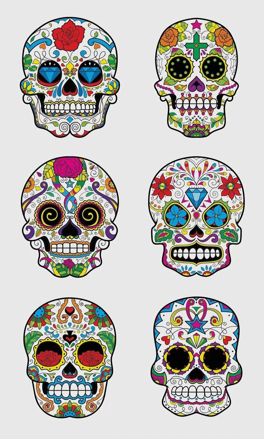 Free Sugar Skulls Inkydeals