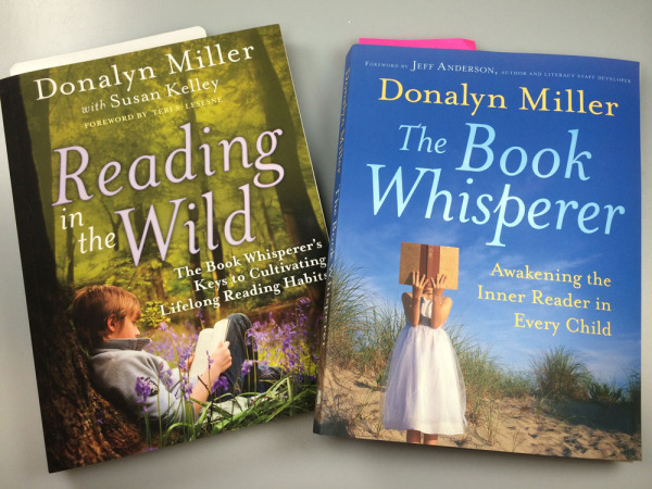 Donalyn Millers READING IN THE WILD and THE BOOK