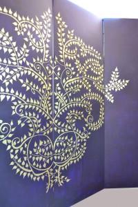 inland arta murala elemente de decor paravane (2)