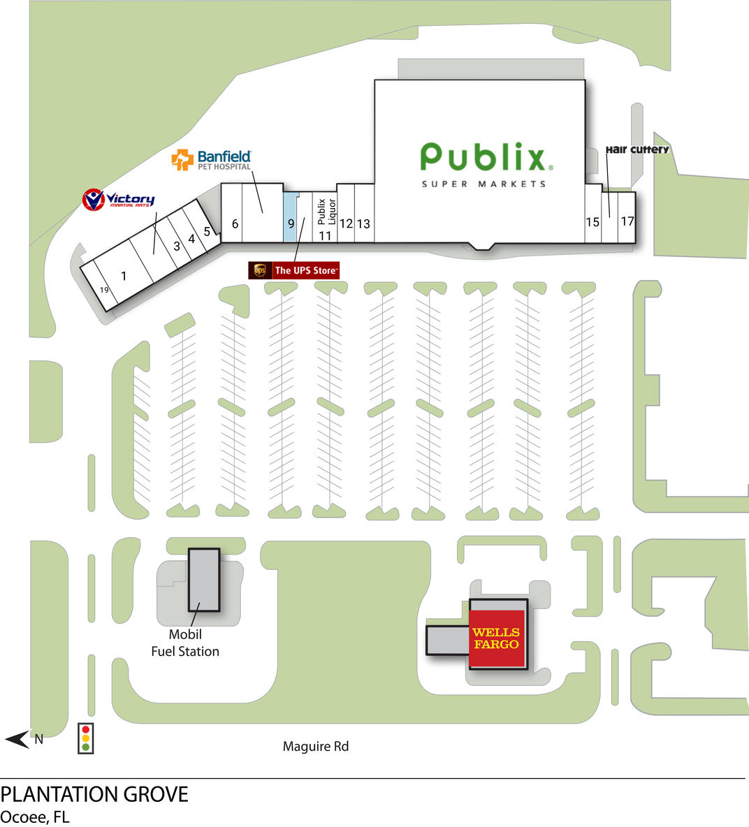 Ocoee Fl Plantation Grove  Retail Space  Inventrust