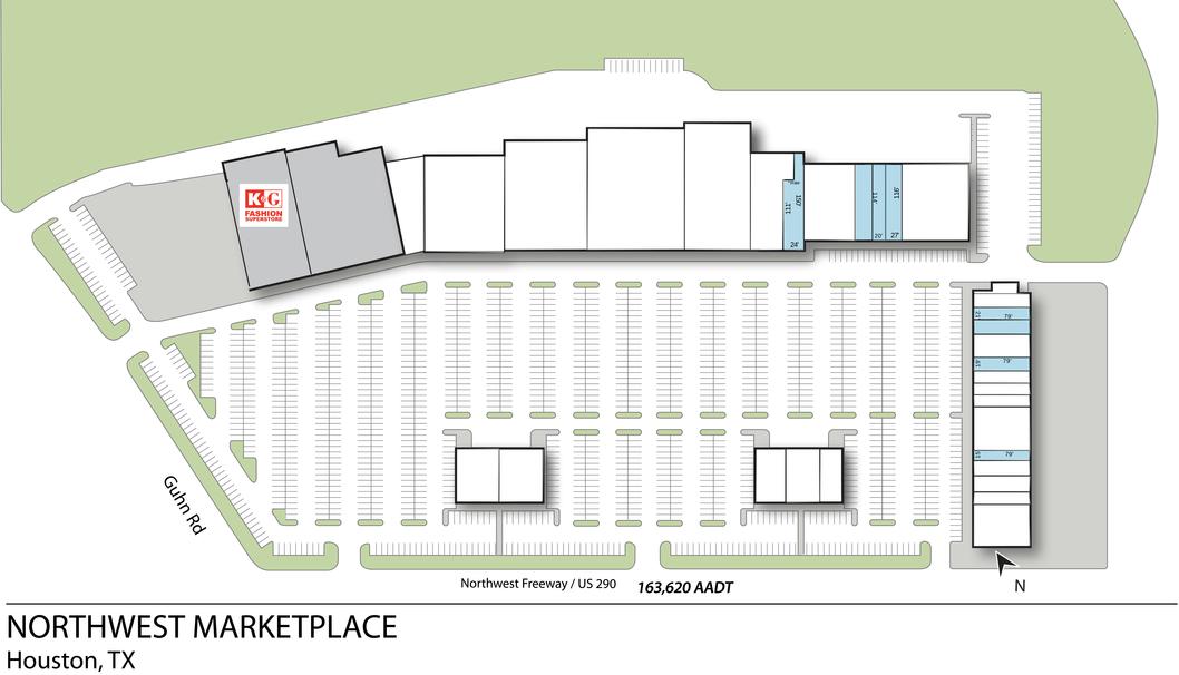 Houston Tx Northwest Marketplace  Retail Space  Inventrust