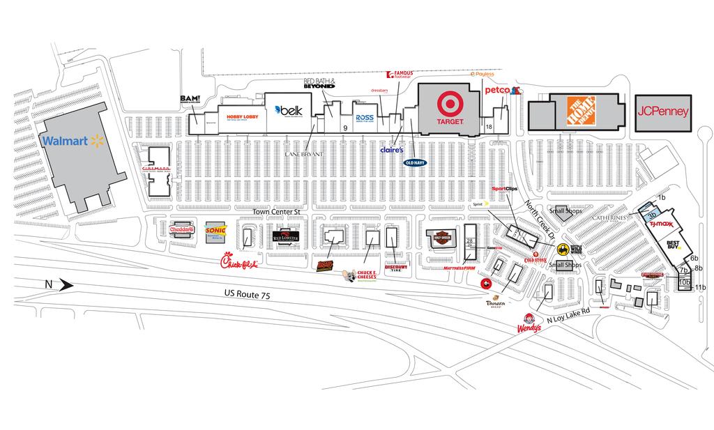 Sherman Tx Sherman Town Center  Retail Space  Inventrust