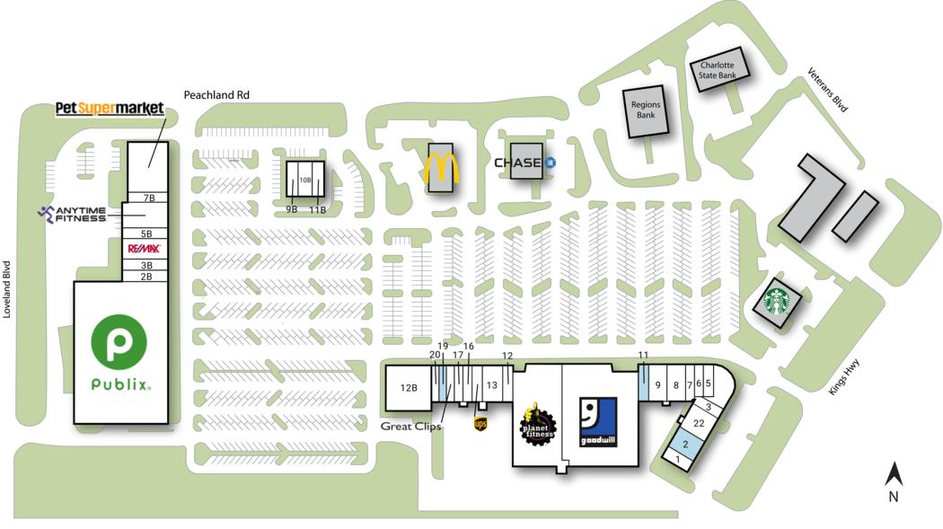 Port Charlotte Fl Peachland Promenade  Retail Space