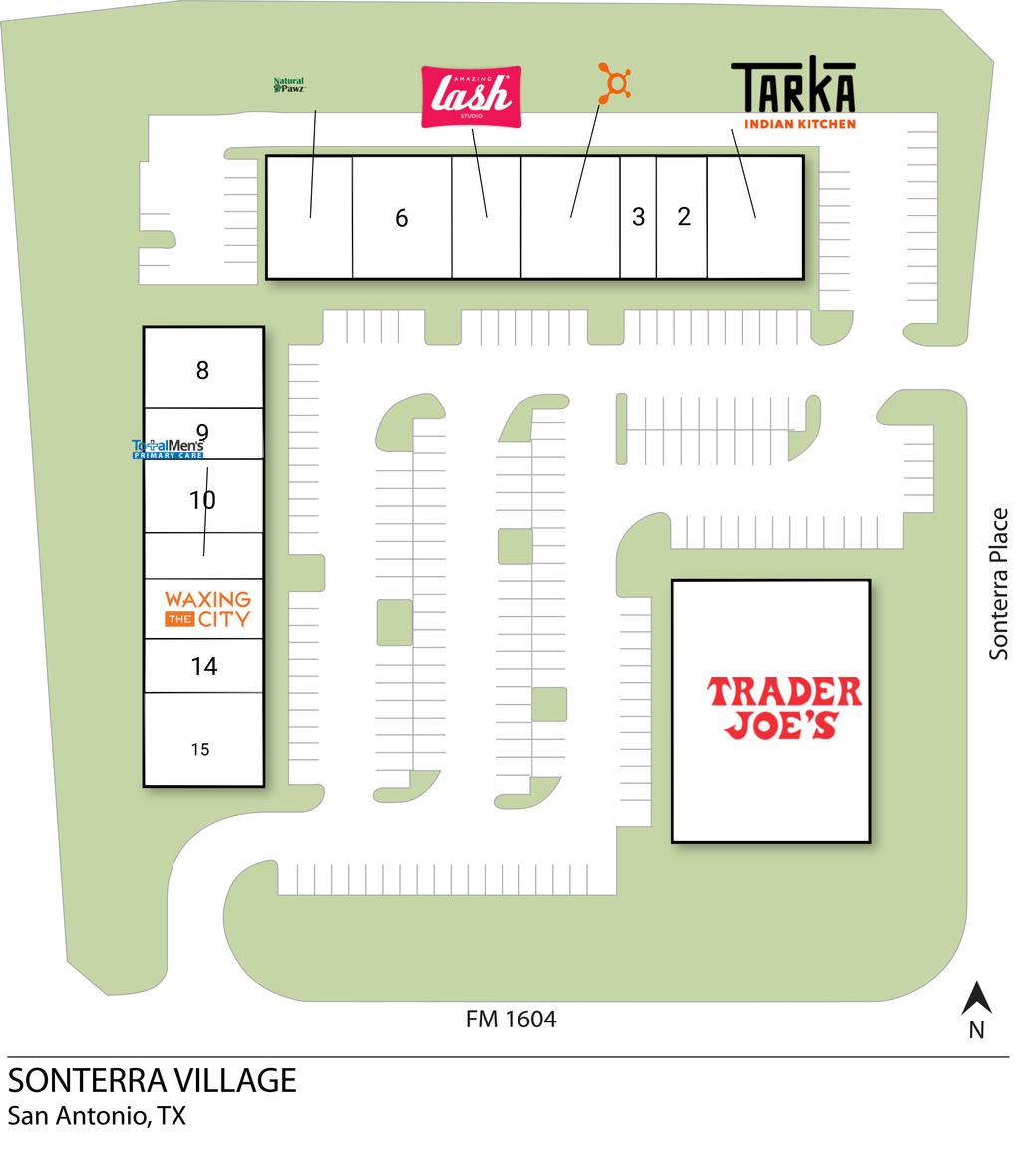 San Antonio Tx Sonterra Village  Retail Space  Inventrust