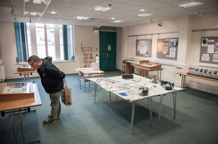 Cornish Studies Library exhibition- photo credit A.Tixiliski
