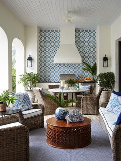 Houzz Tour: A Breezy Vacation Home in Blue and White (15 photos)