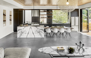 Houzz Tour: A New Midcentury-Inspired Home Stands Out Just Enough (11 photos)