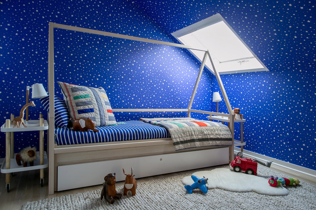Data Watch: Nature Themes and Blue Are Favorites in Kids Rooms (5 photos)