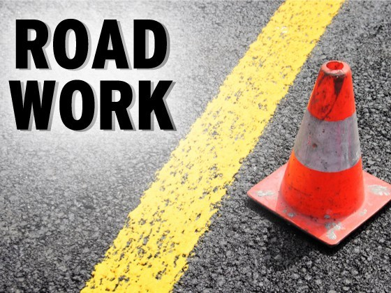 Pavement work beginning in Norco