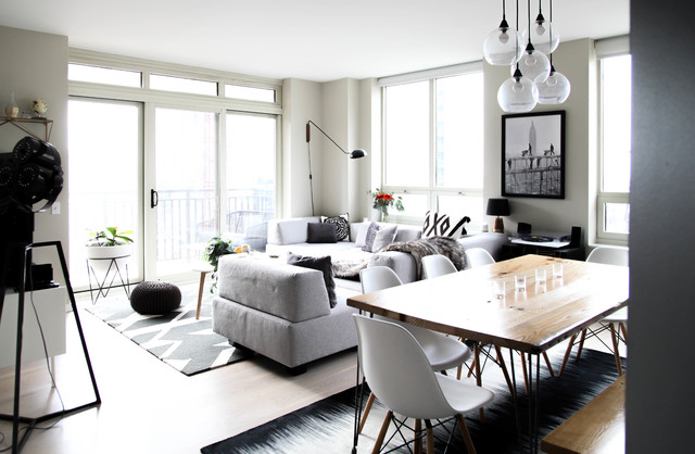 My Houzz: Monochromatic Style in a Chicago High-Rise Condo (20 photos)