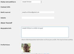 User Profile Example