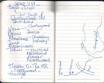 Scarp map and notes-1