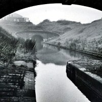 Horse Boating on the BCN:Tividale Aqueduct, Netherton Tunnel Branch