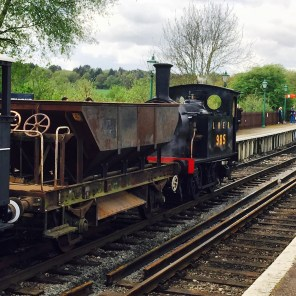 Brake van rides were an added atraction hauled by this diminuitive and immacuate Y7 loco...