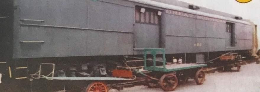 baggage car 429