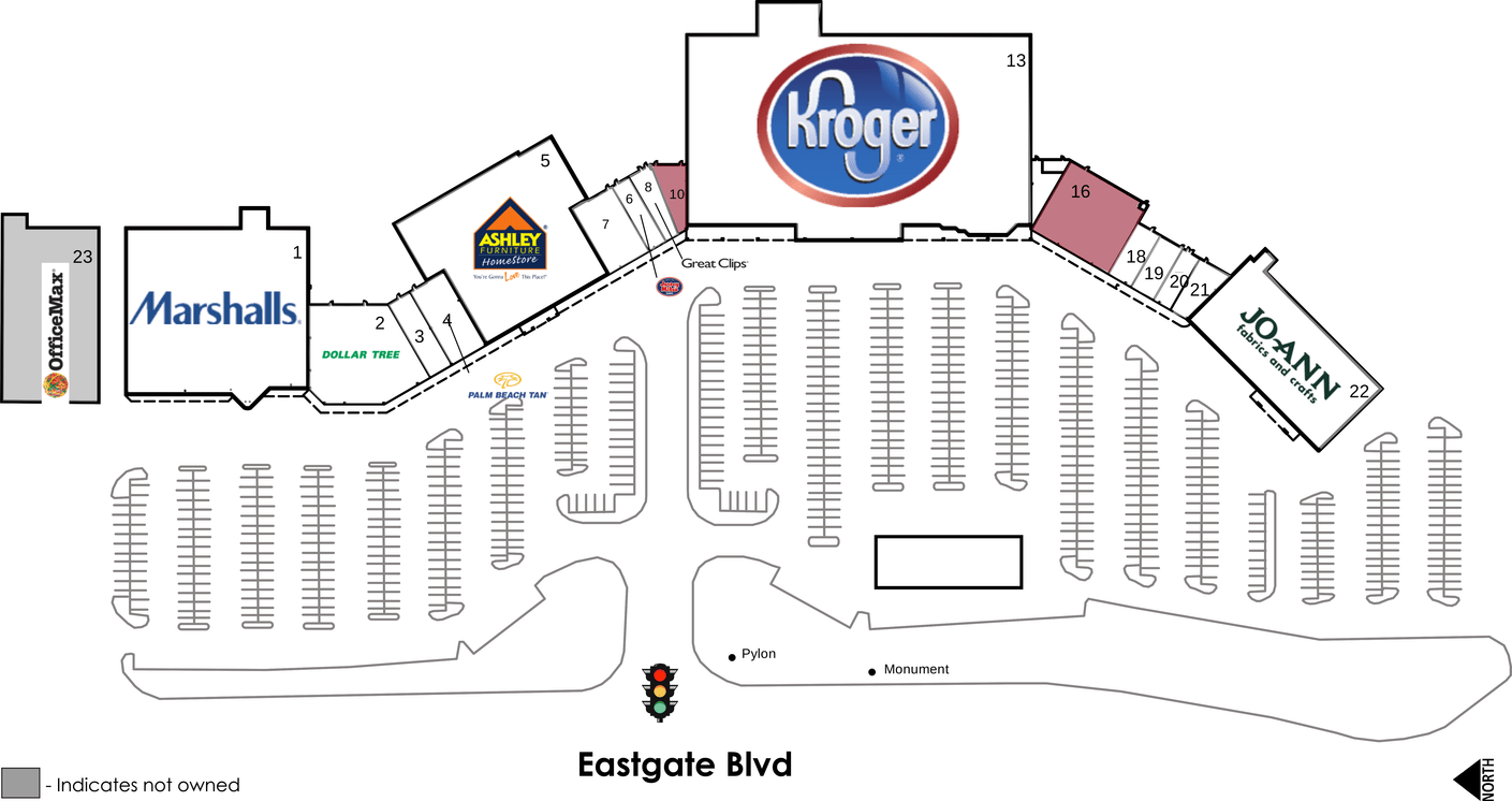 Cincinnati Oh Eastgate Crossing  Retail Space For Lease