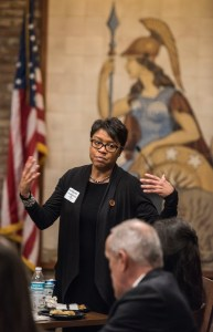 Paulette Brown-Hinds at the Inland California Rising coalition, State Capitol. February 19, 2019.