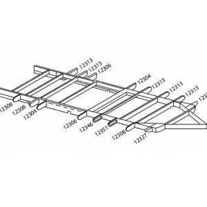 Airstream Chis Outrigger Replacements 1969-1993 on
