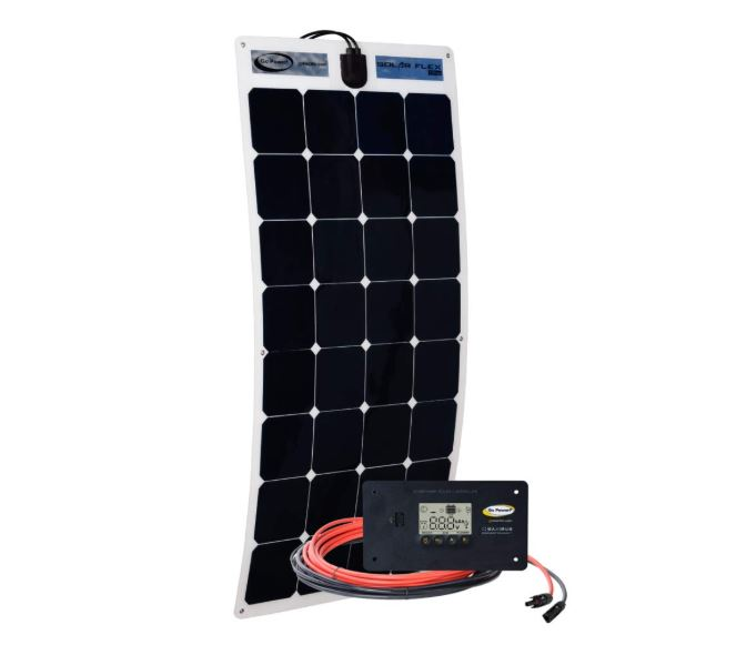 Flexible Zamp Solar Panel Kit 100 Watt - Inland RV