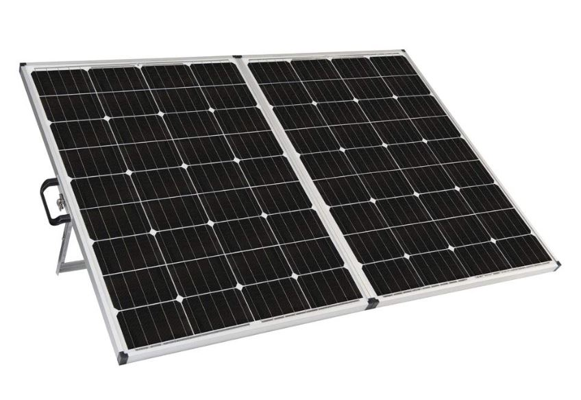 Portable Zamp Solar Panel 140 Watt Inland Rv