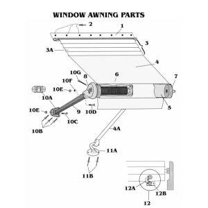 Zip Dee Window Awning Parts Inland Rv