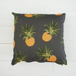 Pineapple Dark - Art Print Cushion