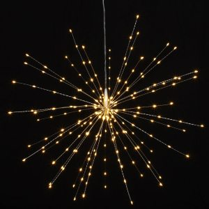Starburst light - 50cm (Silver) garden lights