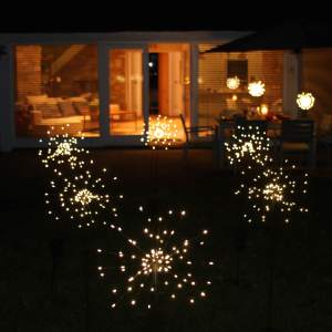 Solar Starburst - Outdoor Stake Light garden lights