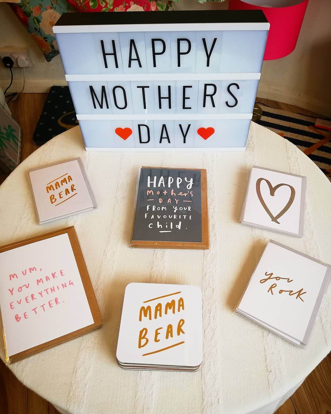 💐 Plenty of Mother's Day cards and gifts at Inle Home! Sunday 31st March