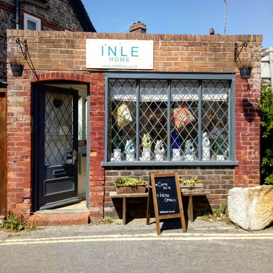 ☀Lovely sunny morning in Rottingdean today ! ☀ Open Today 11am – 5pm  Shop online 24/7 www.inlehome.co.uk