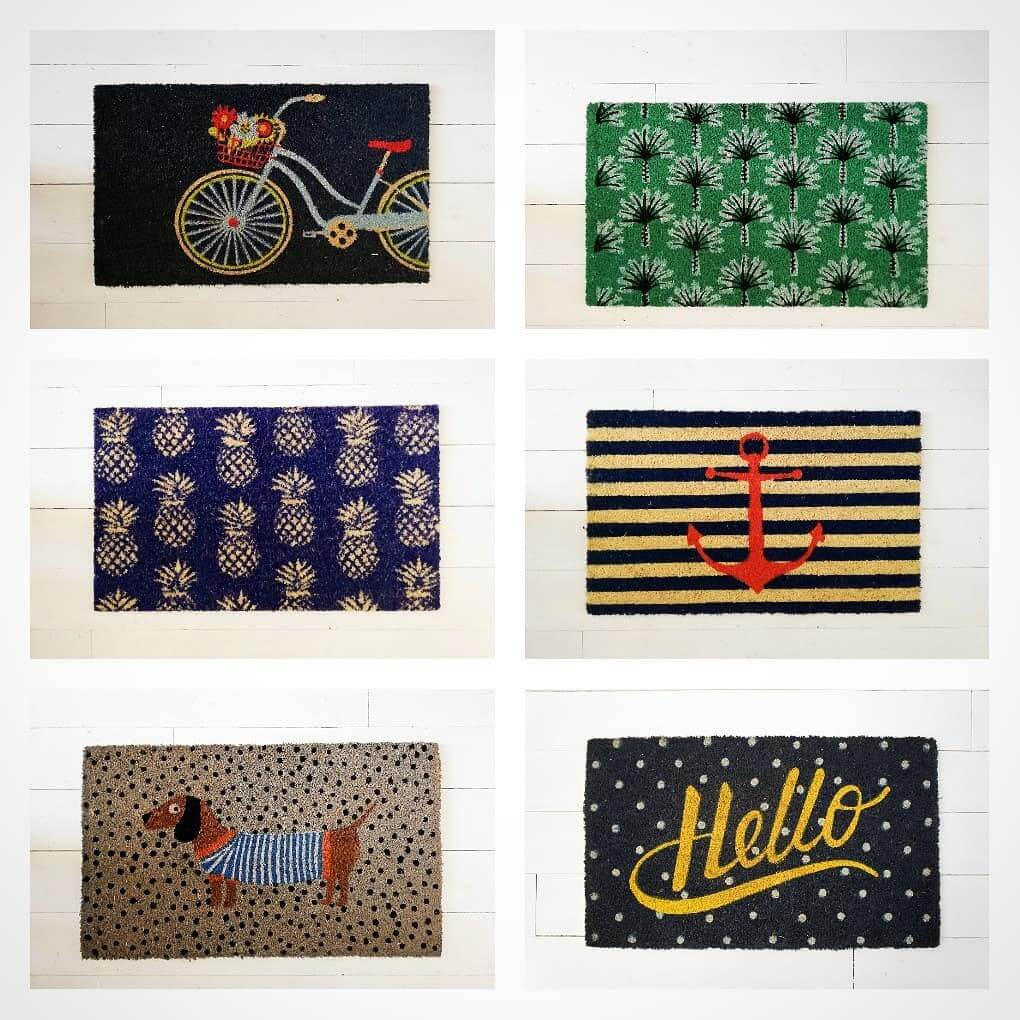 💙 Doormat anyone?! Gorgeous new designs in stock now