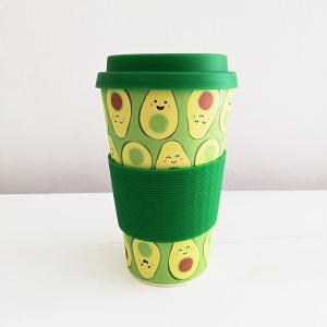 Avocado Bamboo Coffee Cup
