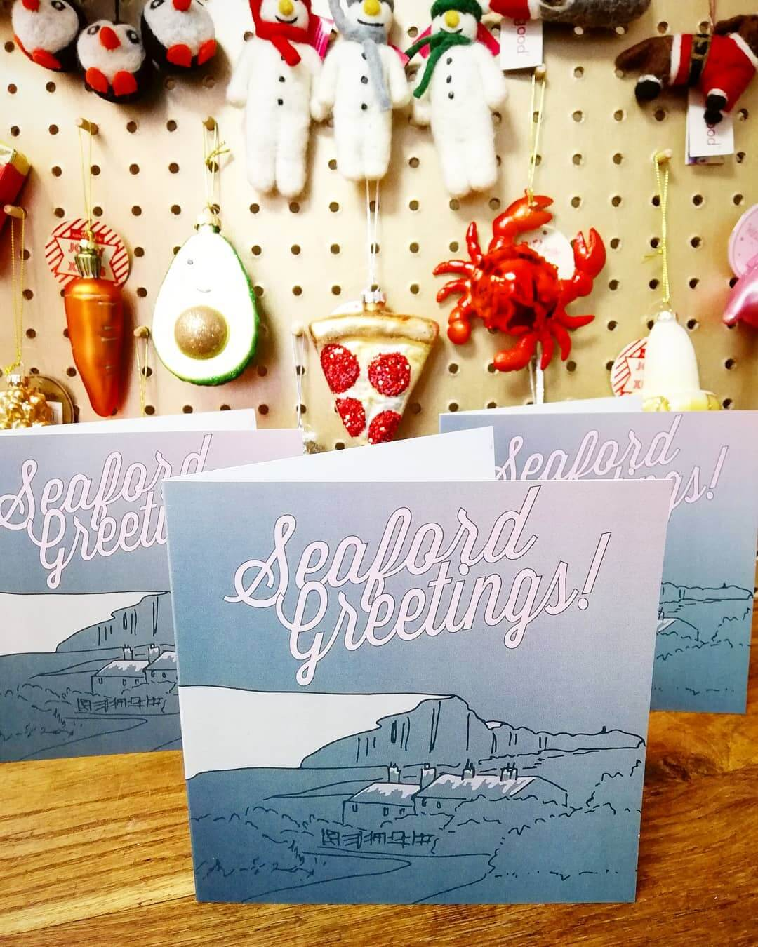 🌲Seaford Greetings🌲 Designed by my lovely hubby! Love them 😍 Available individually or in a pack of 5