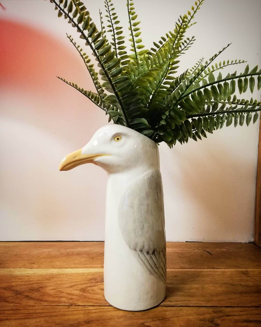 💚 NEW GUY 💚 Say hello to our new addition of @quail_ceramics. Isn't he a beauty?! All vases now back in stock