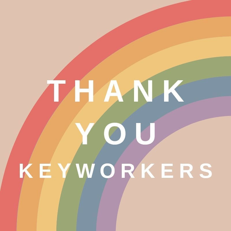 💙 An emotional last clap tonight 💙 . A huge thank you to all our keyworkers during these strange times. Your hard work has been crucial in bringing a sense of normality back, and means we can open in a couple of weeks. You are all heroes
