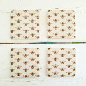 Bee Coasters with Gisela Graham