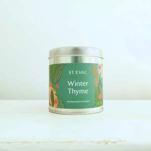 Winter Thyme Scented Candle Tin by St Eval