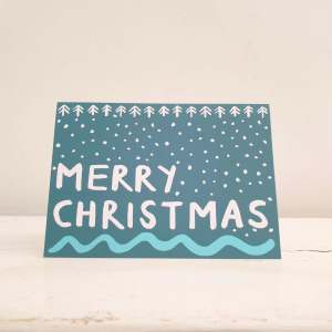 Merry Christmas Card by Alison Hardcastle