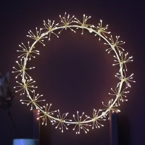 Starburst Wreath by Lightstyle London