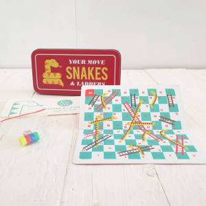 Travel Snakes and Ladders by Rex of London