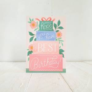 'Hope You Have The Best Birthday' Greetings Card