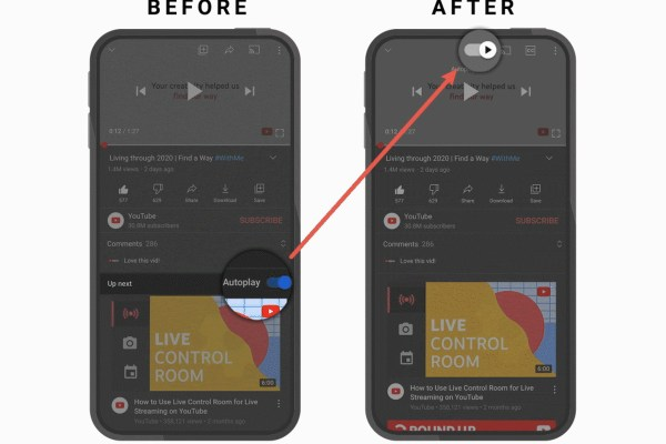 The YouTube mobile app update gets new gestures and playback controls