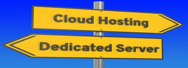Key difference between cloud hosting and web hosting