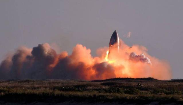 SpaceX Starship prototype rocket explodes Just in 6min. Watch here