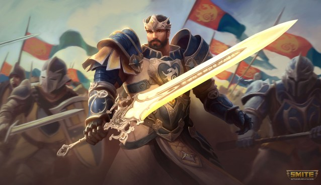 New SMITE GOD KING GIL has been announced