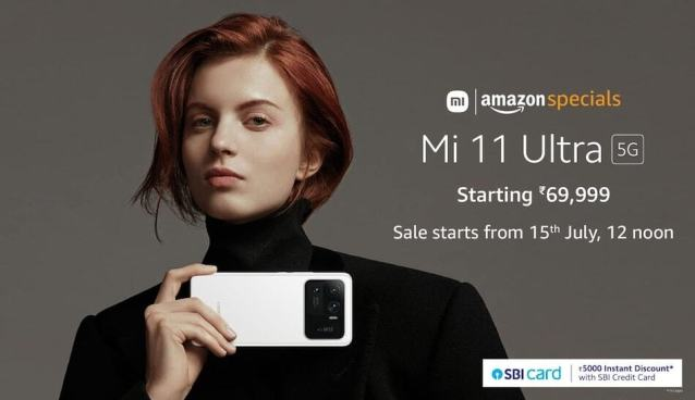 Mi 11 Ultra goes on sale on July 15: Know the price and specification