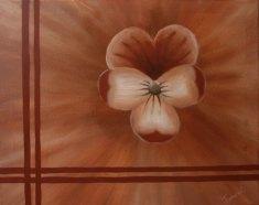 Bordered Flowers III