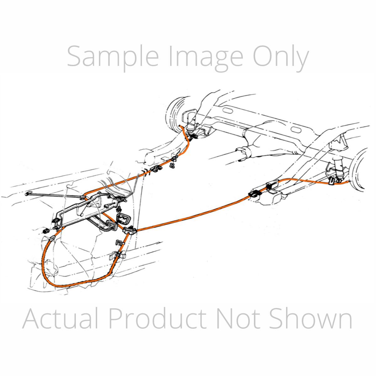 Jeep Cj Brake Line Diagram