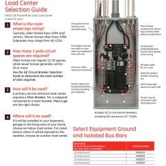Siemens Load Center Wiring Diagram Burnham Steam Boiler Ge Powermark Gold 100 Amp 12-space 22-circuit Indoor Main Breaker Circuit Panel ...