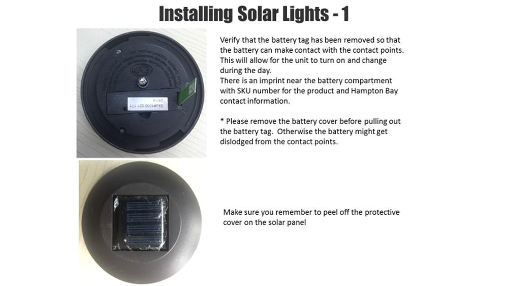 Pathway Light 6 Pack Bronze Solar Powered LED Waterproof